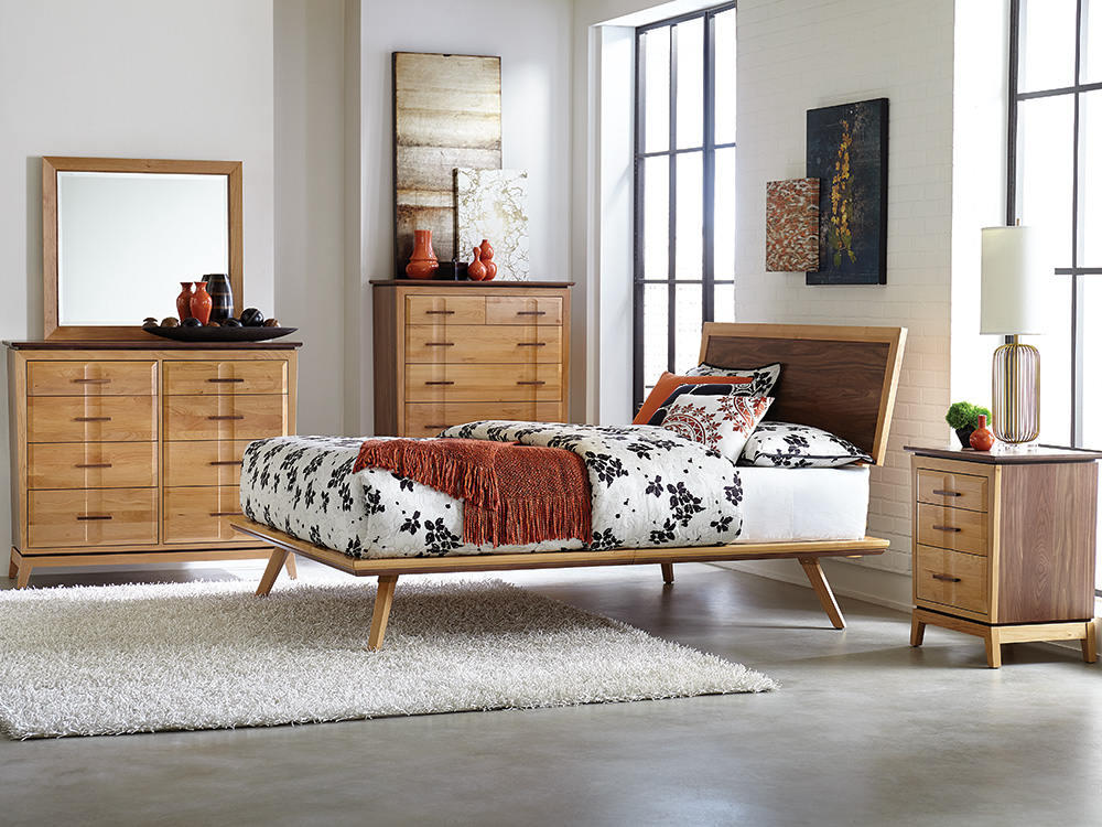 What S New Addison Platform Beds Whittier Wood Furniture
